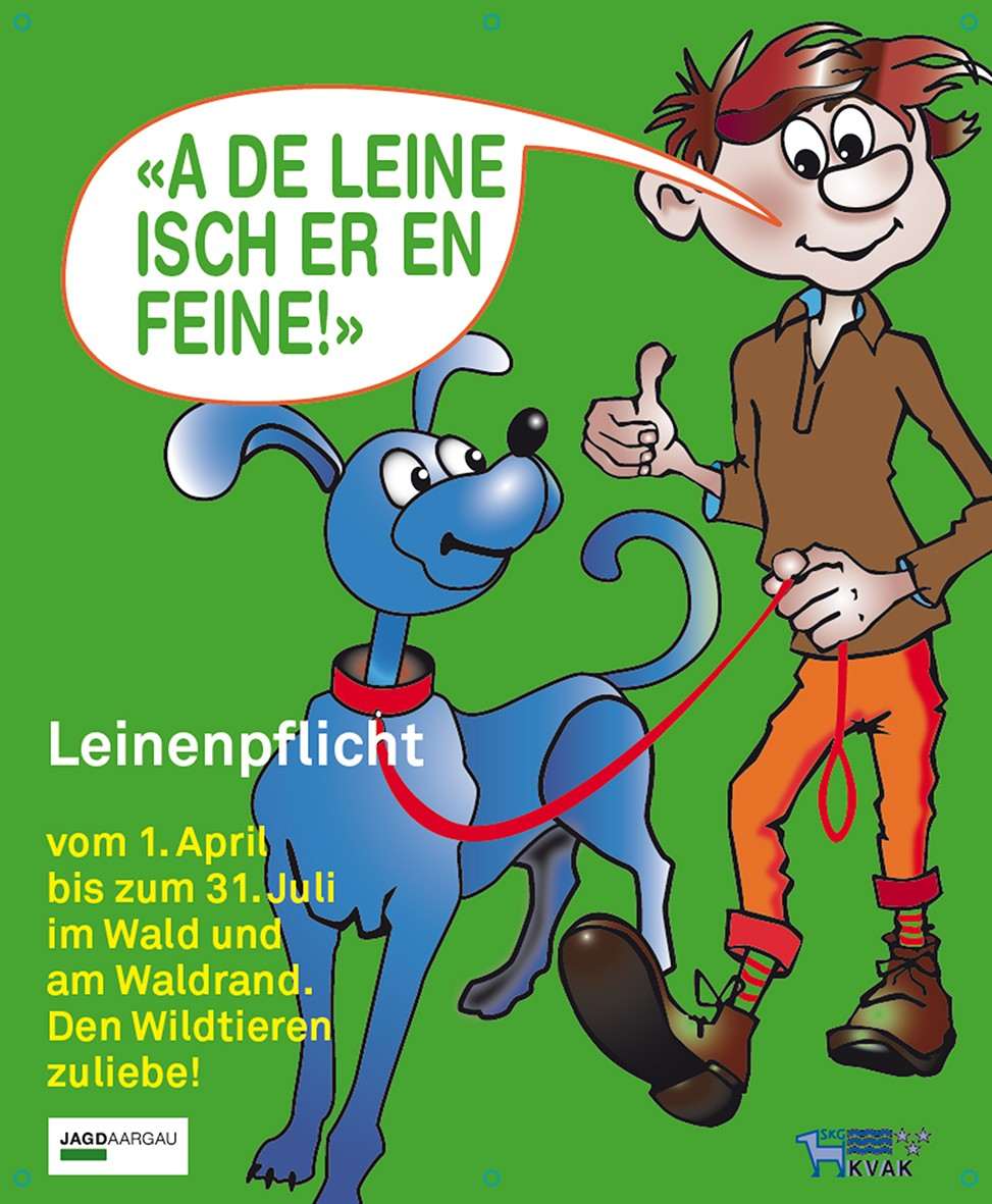 Leinenpflicht ab 1. April